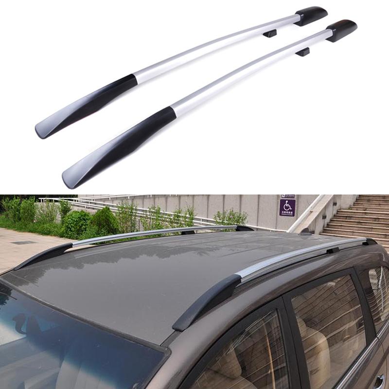 Roof Rack Side Rails: Universal-Car-Styling-Roof-Racks-Side-Rails-Bars-Luggage