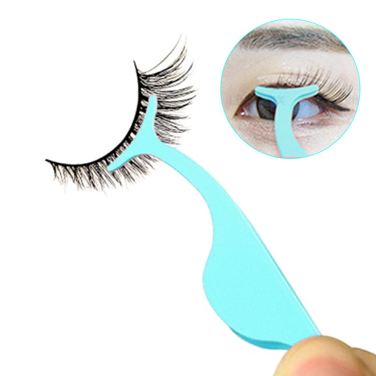 Hot Rvs Logo Lash Extension Roze Tool Private Label Valse Wimpers Custom Lash Applicator