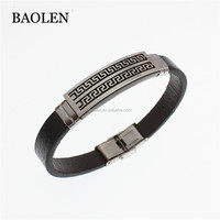 Stocked Supply Costume Fashion Accessory Leather Bracelet