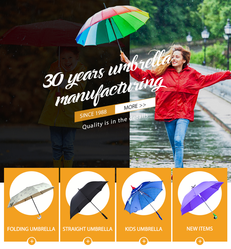 Pas cher Logo Personnalisé Impression Parapluie Droit Promotionnel