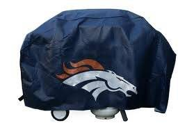 Officially Licensed NFL Denver Broncos Deluxe Grill Cover