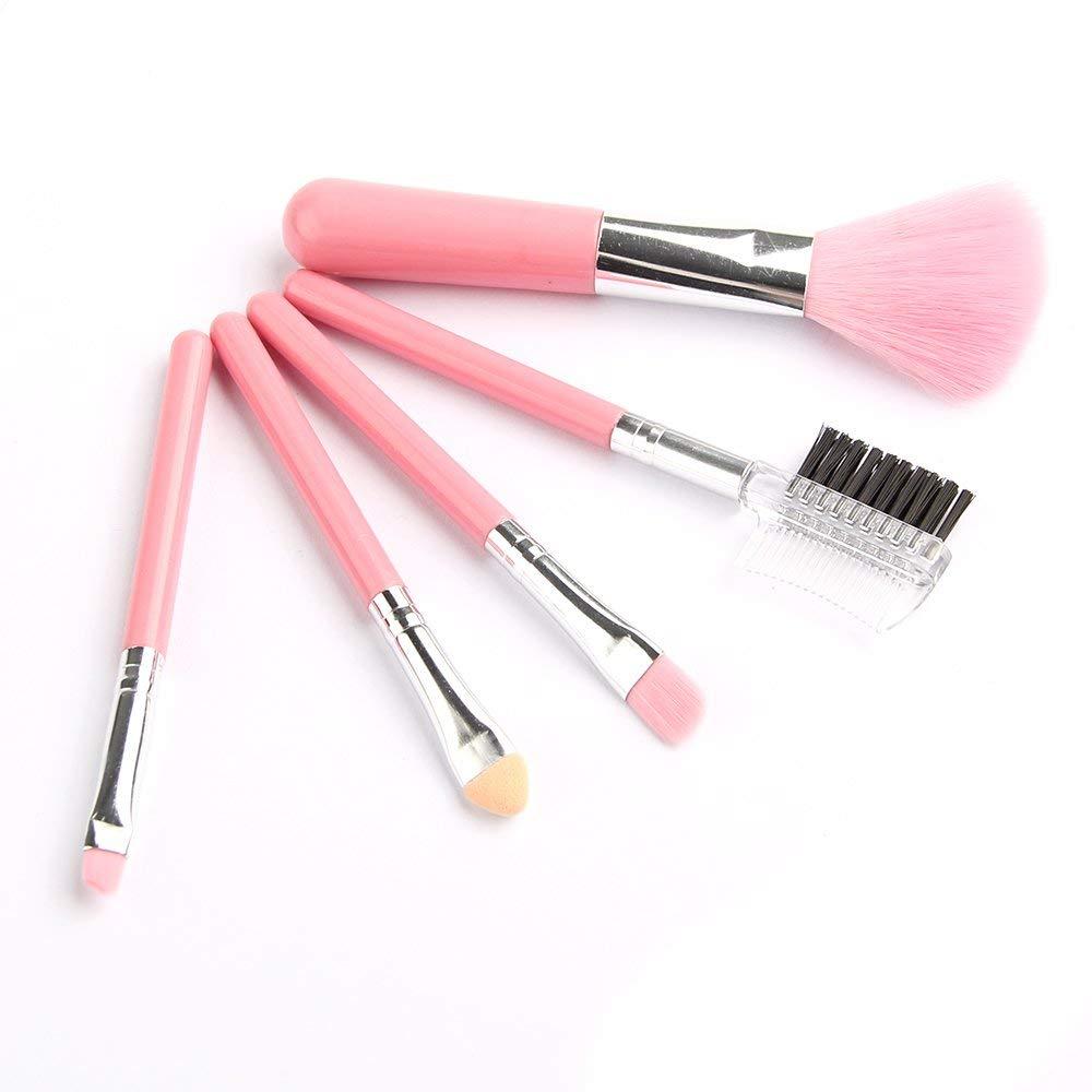 Get Quotations · Brush Set Makeup Brush Set - 5Pcs Makeup Brushes Sets Gift Cosmetics Tools Eyeshadow Foundation Cosmetic