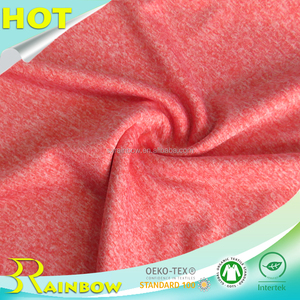 UV Protection Knitting Plain Dyed DTY Cationic 155gsm Lycra Fabric for Swimwear