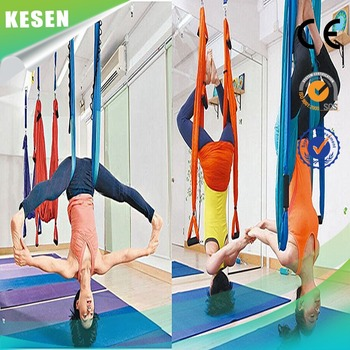 Medium image of heavy duty aerial yoga trapeze for sale