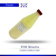 High quality cartridge refill powder for Konica Minolta C280 toner powder