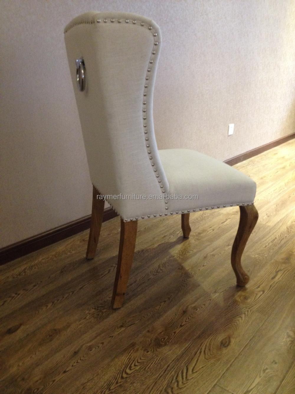 Classical White Button Tufted Velvet Ring Pull Chair Buy