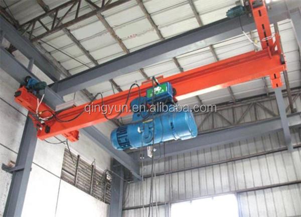 Monorail Crane, Suspension Crane, Single Girder Overhead
