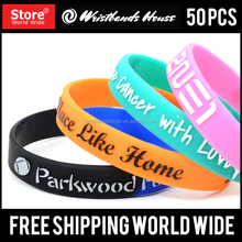 Popular printed wristbands | cheapest silicone printed wristbands | Cute Customized pad printed wristbands