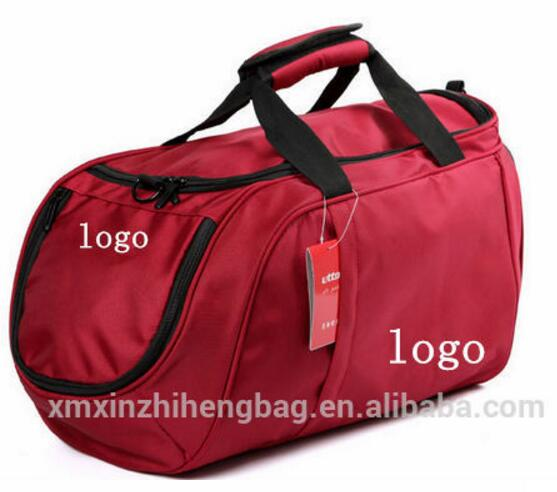Newest sports bag real madrid sports bag with shoe compartment
