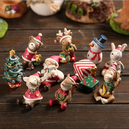 Creative micro - landscape flower pots resin craft Decoration Christmas gifts home furnishings decoration