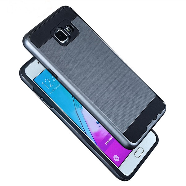 san francisco 113f3 1ad31 C&T Brushed Metal Texture Hybrid Dual Layer Armor Protective Case Cover for  Samsung Galaxy A9 Pro, View Protective Case Cover for Samsung Galaxy A9 ...