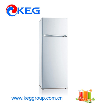 212l Meps Certificate Home Used Quiet Top Freezer Water Cooler Inside Refrigerator For