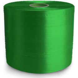 Twine - PP Film Tape Twine - Green - 10660', Size: D-28, 35 lbs Tensile, 4# Tube (10 Tubes) - CWC-046006