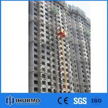 Beijing double cabin mast construction hoist lift material and passenger
