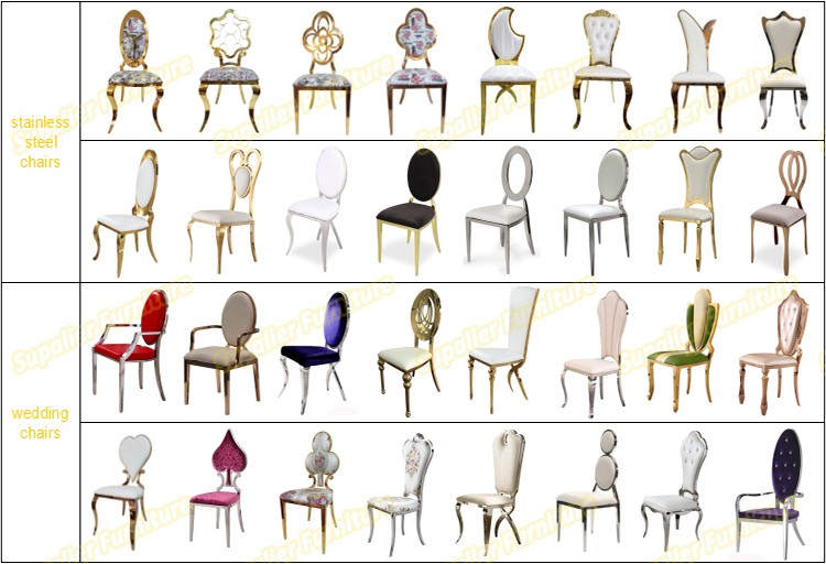 Luxury Wholes Type Of Wedding Hall Chairs For Event