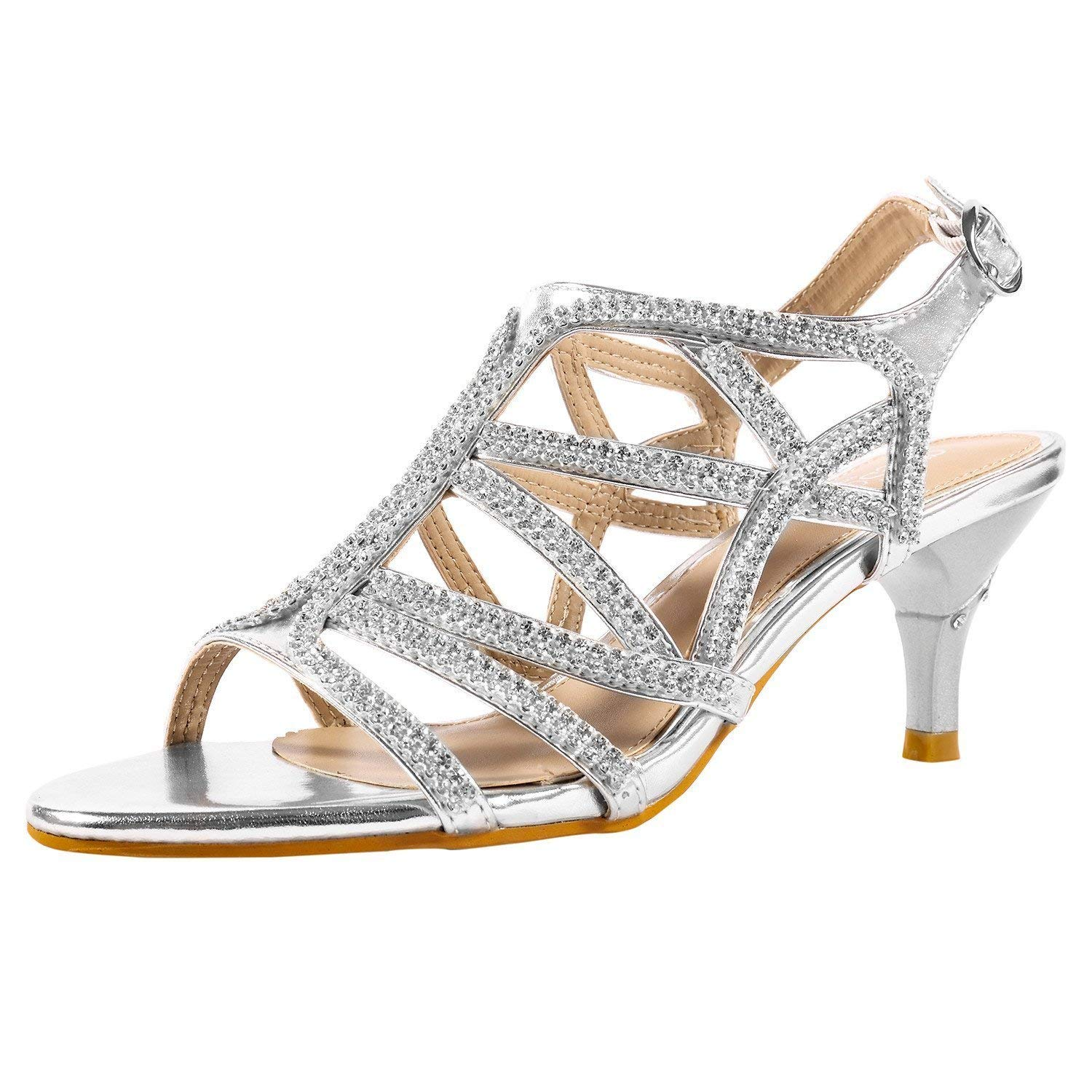 Cheap Silver Strappy Sandals Wedding Find Silver Strappy