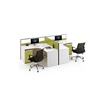 2 person double workstation call center office workstation