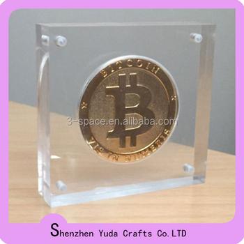 Magnetic Acrylic Souvenir Coin Display Challenge Coin Display Stand - Buy  Souvenir Coin Display,Acrylic Souvenir Coin Display,Magnetic Acrylic