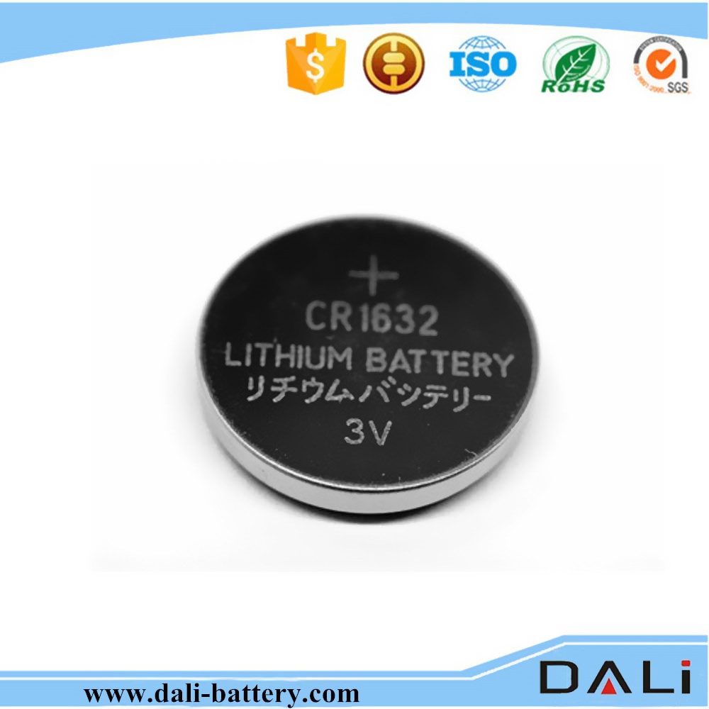 Shenzhen best supplier Watch Battery Cr1632 button cell battery cr/3v lithium cebutton cell battery /button cell battery cr1632