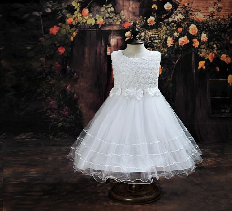 Factory Selling Children Wedding Dress Children Tutu Dress Red,White ...