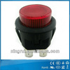 round latching momentary illuminated waterproof push button switches with CQC,ENEC,cUL waterproof electrical push button switch