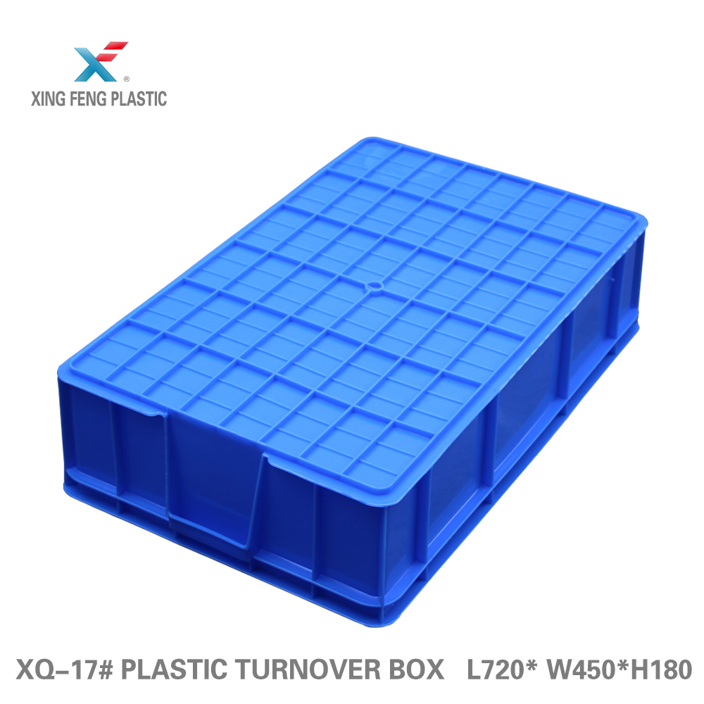 Waterproof multi purpose plastic box mesh straight wall container for fruits and vegetable meat transport crate