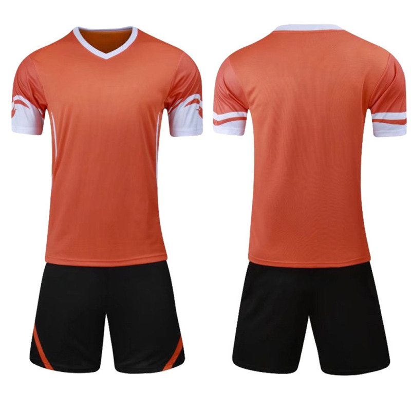China Suppliers Men Soccer Jerseys Set Kids Cheap Breathable Sublimated Soccer Jersey