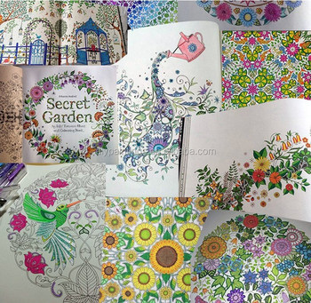 Factory Direct Sale Secret Garden Reducing Stress Book Coloring For Adult
