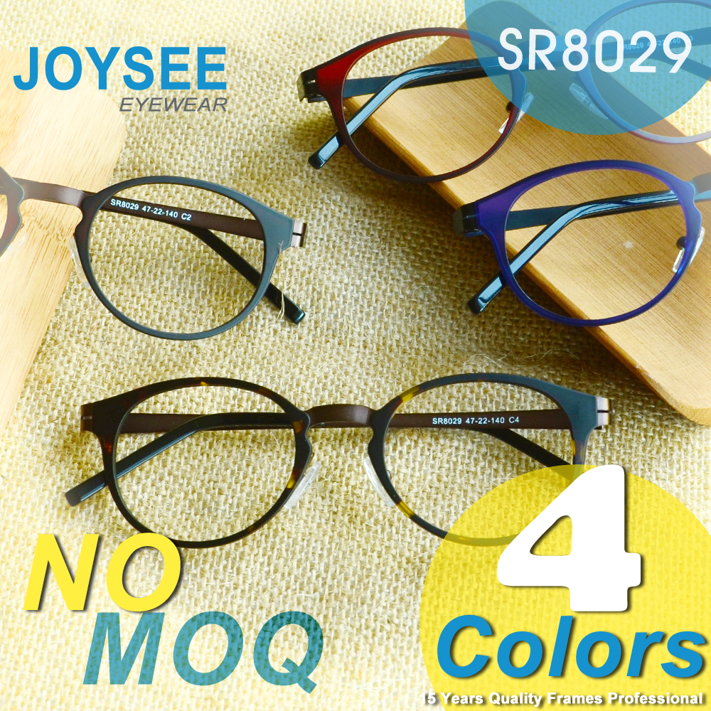 CE And FDA Joysee Wholesale Designer New Mode Fancy Stylish Hyperelastic Metal Optical Eye Glasses Frame Fast Shipping China