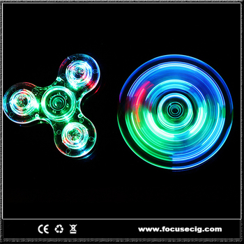 led light spinner crystal fidget spinner