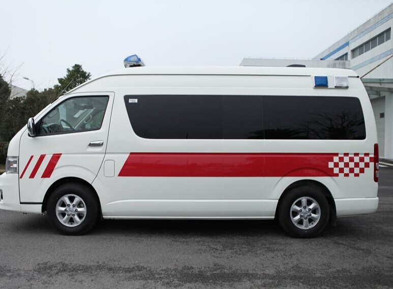 Toyota Hiace Ambulance (imported From Japan )