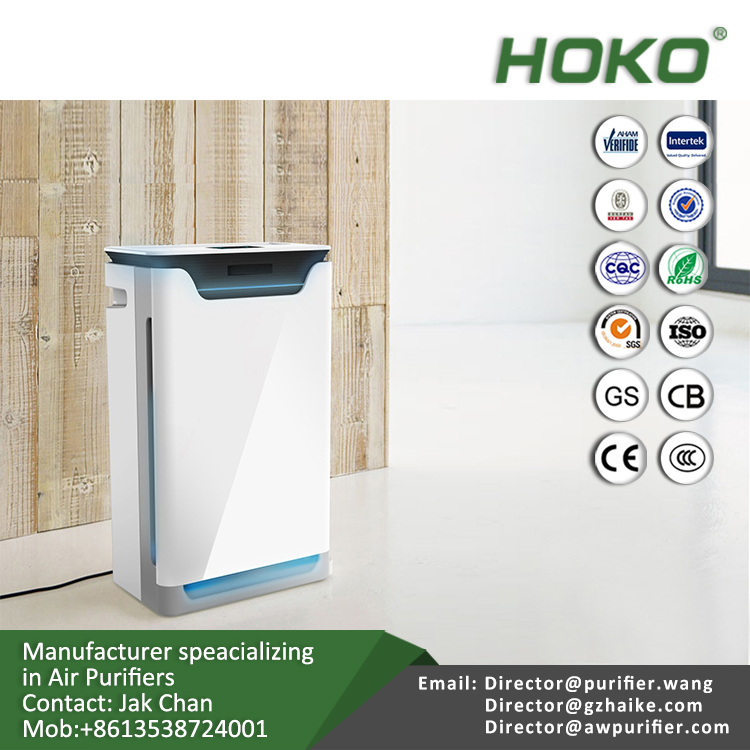 Home BreatheSmart Customizable Air Purifier with HEPA-Pure Filter for Dust