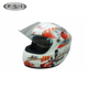 Mini full face motorcycle helmet customized safety fireman helmet toy