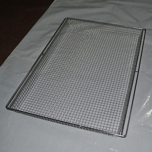 SGS Certification Square Stainless Steel Wire Mesh Baskets Ss 304 Metal Basket