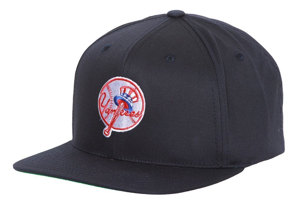 570399bd40741 Get Quotations · New York Yankees American Needle Original Vintage Tophat  Logo Snapback - Navy