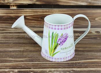 2014 Autumn New Design Flower Watering Can Garden Pot