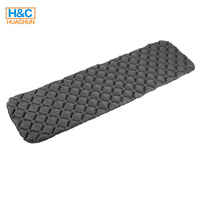 Inflatable Waterproof Foldable Ultralight Camping Mat for Backpacking
