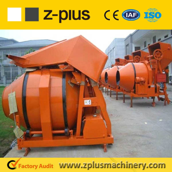 2017 widely used portable JZR500H home concrete mixer for sale