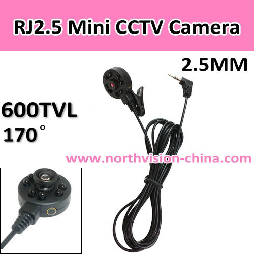 170 Degree Portable Mini Dvr Camera,Night Vision 940nm Ir,2.5mm Av ...