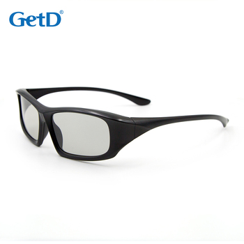 GetD Reusable scratch free Polarization 3D glasses