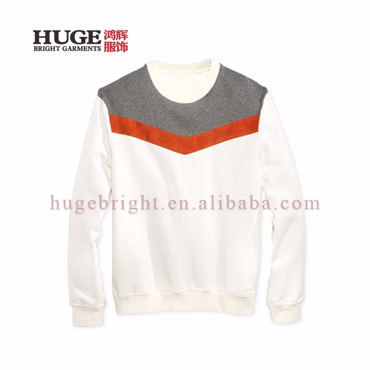 Special Design Customized Stripe Knit Sweaters Mens