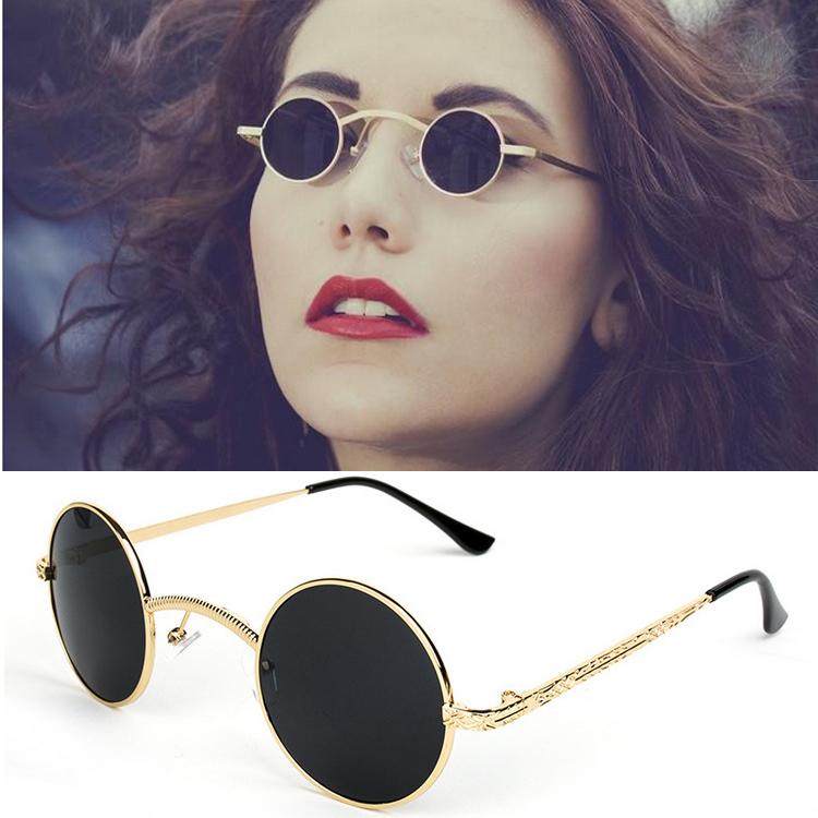 34879b3f5969 Wholesale 2015 New Brand Half Rim Sunglasses CAT EYE Sun Shades Lenses Half Frame  Goggles Women Tinted Sun Wear Black Party Sunglass Metal Sunglasses Case ...
