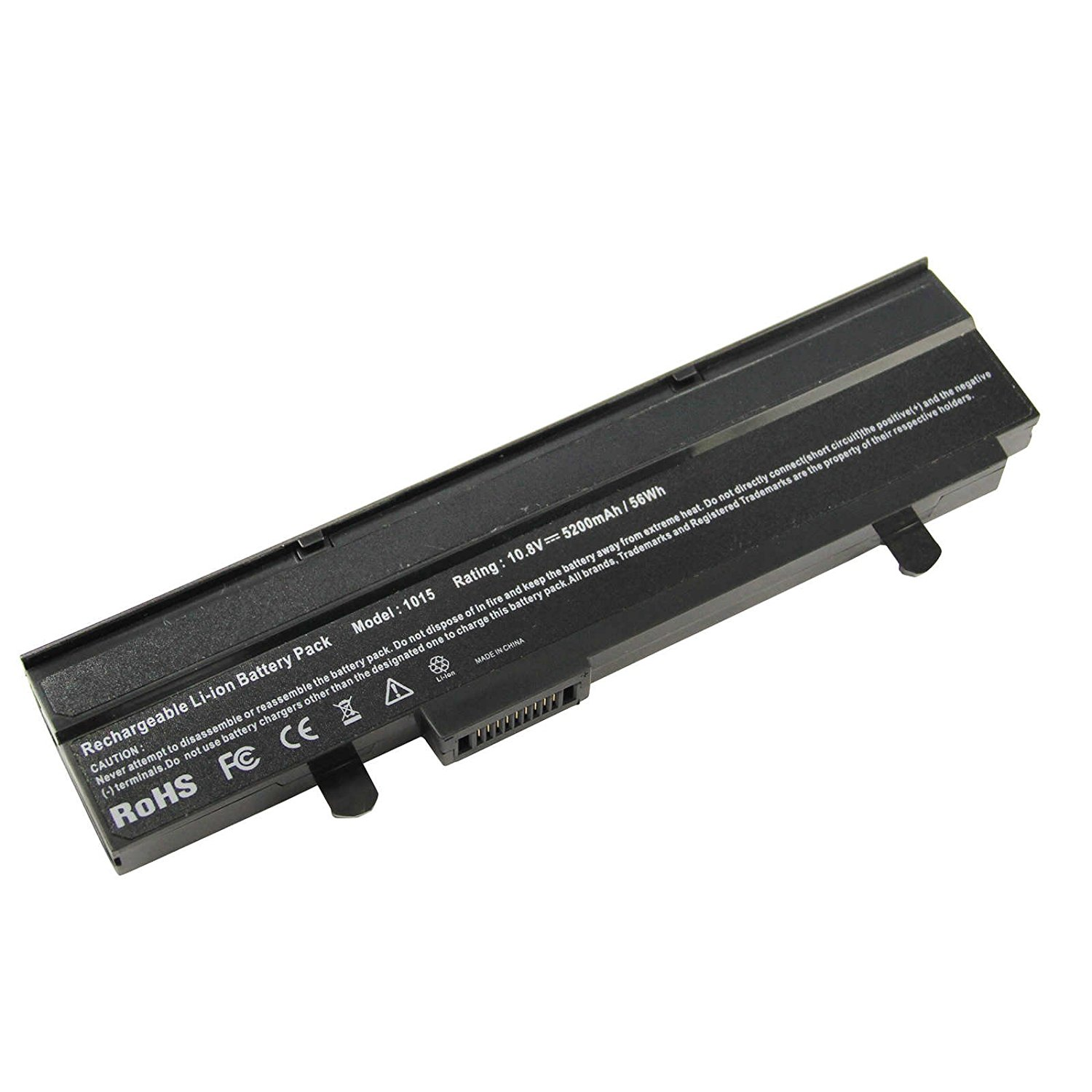 AC Doctor INC Generic OEM 10.8V 5200mAh Black Laptop Battery Replacement for Asus Eee PC 1015 Series A32-1015 A31-1015 New 6-Cell