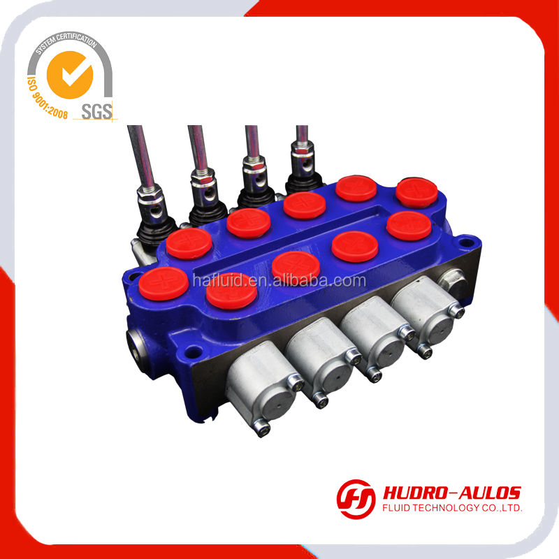 3020R monoblock directional control valves: DCV90-2OT,80LPM,1-5 levels manual directional control valve apply for tractor
