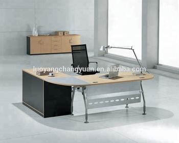 Metallo produttore di mobili per ufficio front office scrivania di