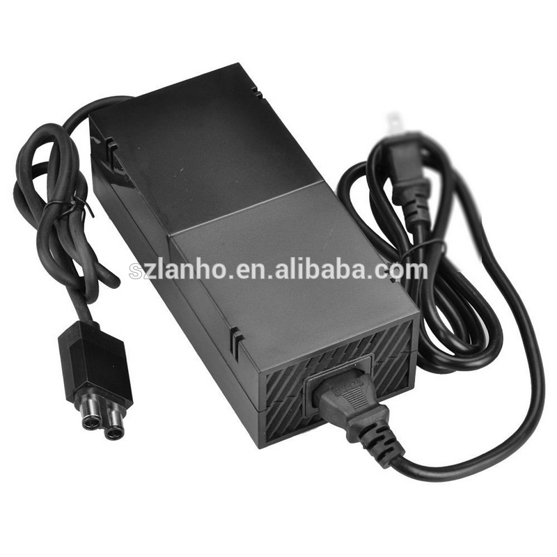 2017 new arrival AC Power Adapter Wall Charger Supply Cable Cord Box For Microsoft Xbox One Console 100-240V wholesale