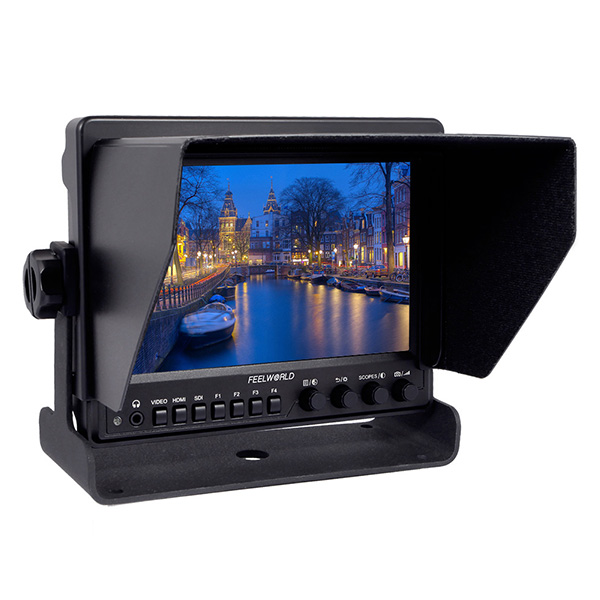 Z7 7 inch Field Monitor With Waveform Scopes and H-D-M-I To SDI output IPS Feelworld Photo Studio Camera External LCD Monitors
