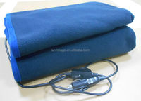 Electric heating blanket suitable for car use