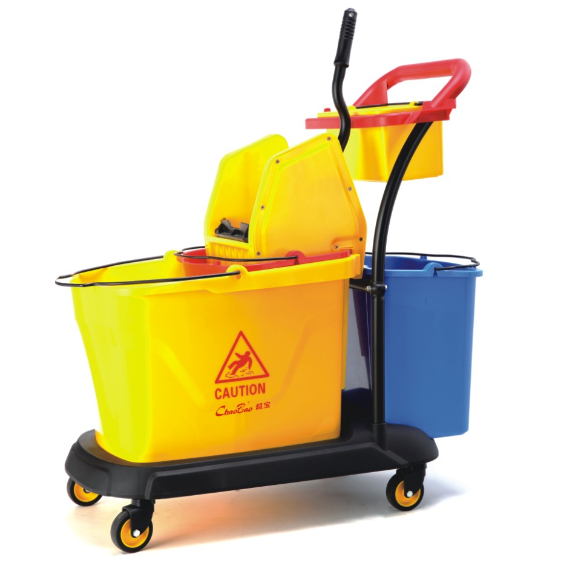 Down-press 35L High Quality double mop bucket with wringer