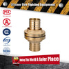 European Germany style 2.5 inch quick install Brass fire Hose Storz coupling